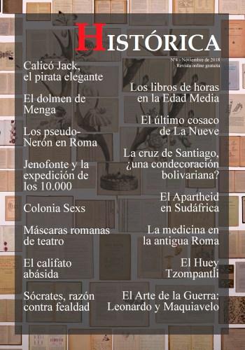 Portada de la revista Histórica nº4, correspondiente a noviembre de 2018