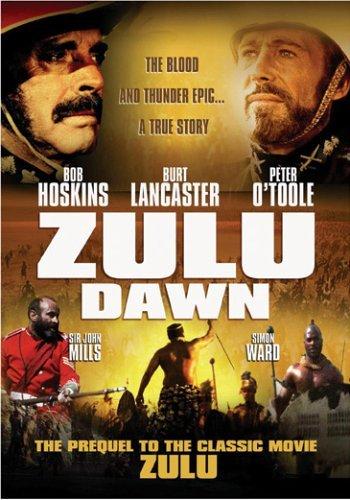 Cartel de Amanecer Zulú en inglés