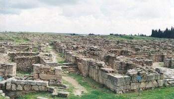 Estado actual del yacimiento de la ciudad de Ugarit