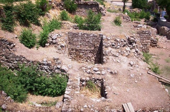 Estado actual del yacimiento arqueológico tebano de la Cadmea