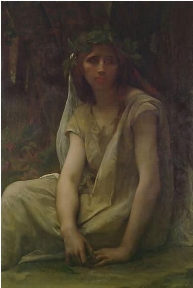 The Druidess, Alexandre Cabanel