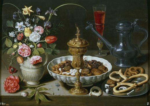 Mesa, Clara Peeters, cuadro barroco (1611)