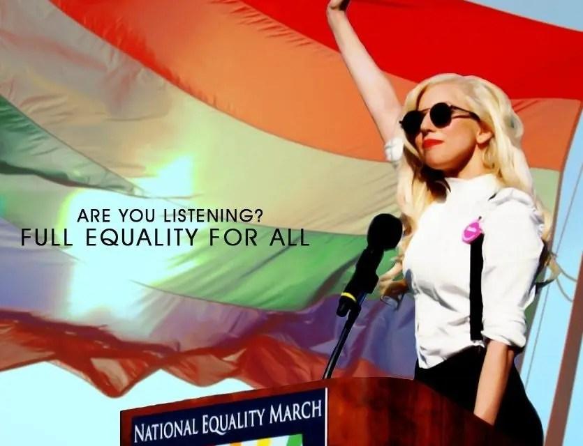 Lady Gaga speech