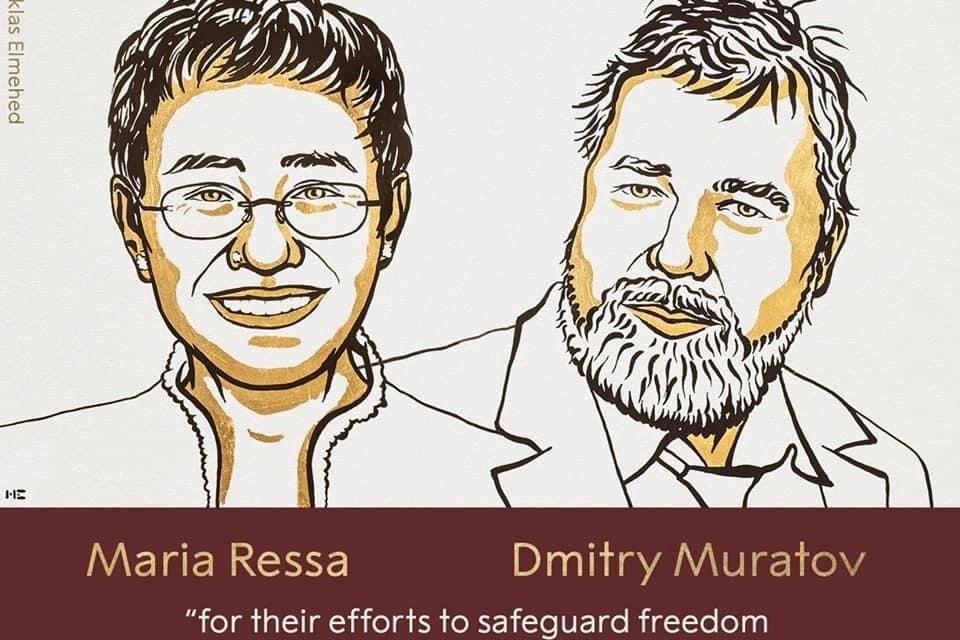 Dy gazetarë fitojnë Çmimin Nobel për Paqe!