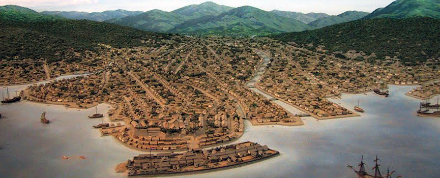La isla de Dejima, puerta entre Japón y Europa