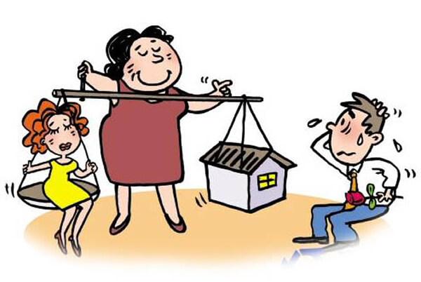 La especial relación entre un novio y su futura suegra china