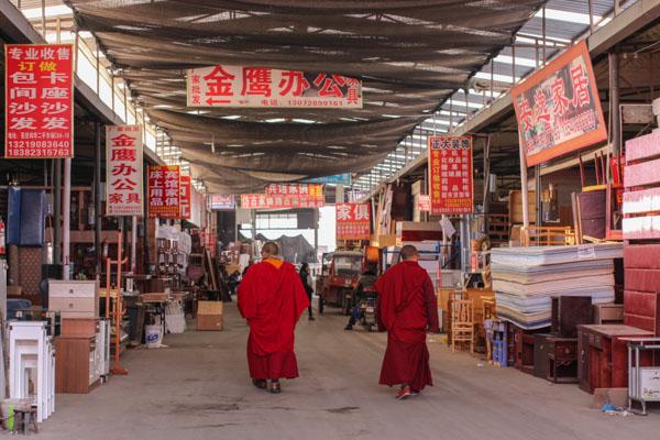 Segunda mano en China: visita al gran mercado de Liangjia Honghua