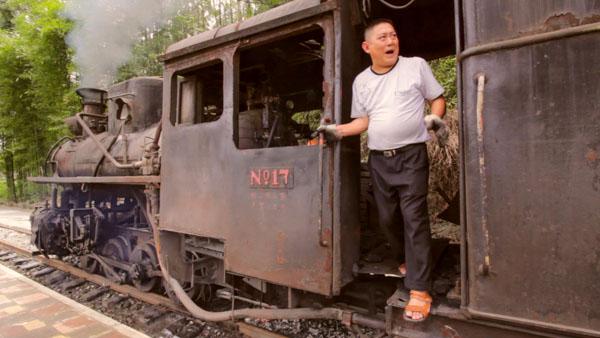Un tren de vapor a la China del pasado
