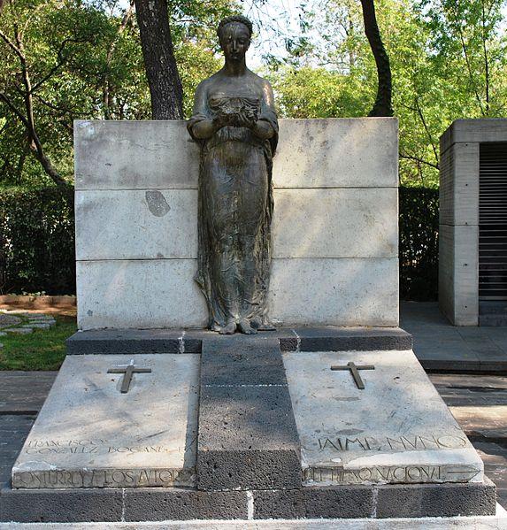 Sepulcro de Jaime Nunó y Francisco González Bocanegra