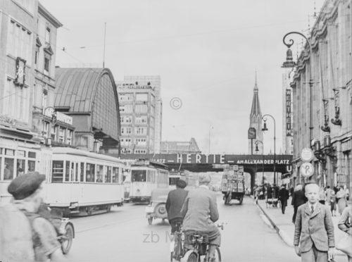 Deutschland 1937, Berlin, Alexanderplatz