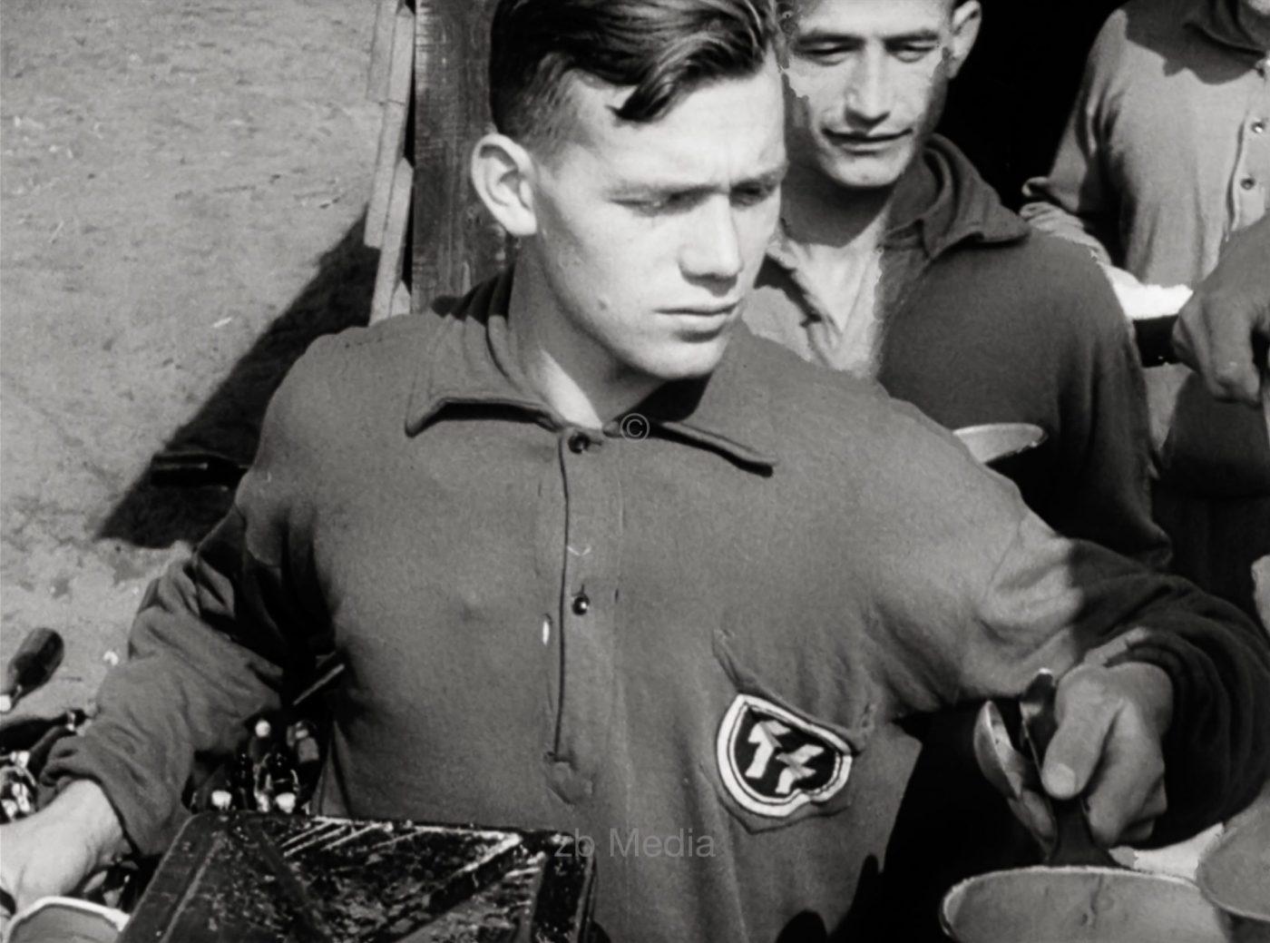 SS-Männer beim Reichsparteitag 1937