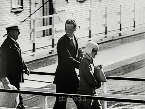 Anne und Charles Lindbergh 1933