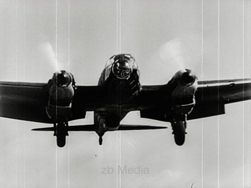 Kriegsbeginn 1939 - Deutscher Bomber HE 111