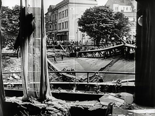 Kriegsbeginn 1939 - Bombenschäden