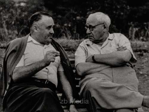 Ingenieure Koroljow und Tupolew