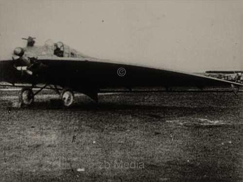 Nurflügler-Experimentalflugzeug