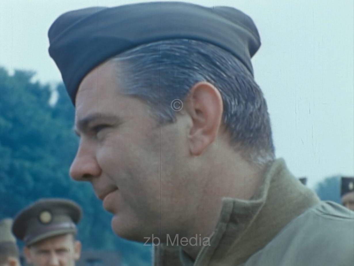 Larry O'reilly, Südengland 1944