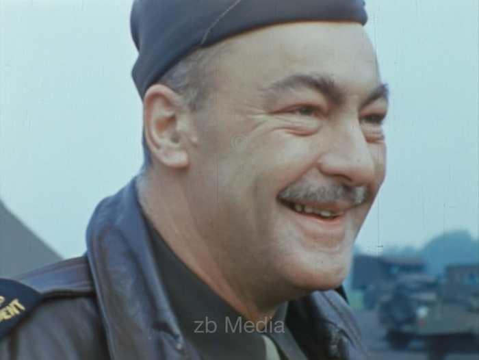 US-Kriegskorrespondent, Wharton Becker, Südengland 1944