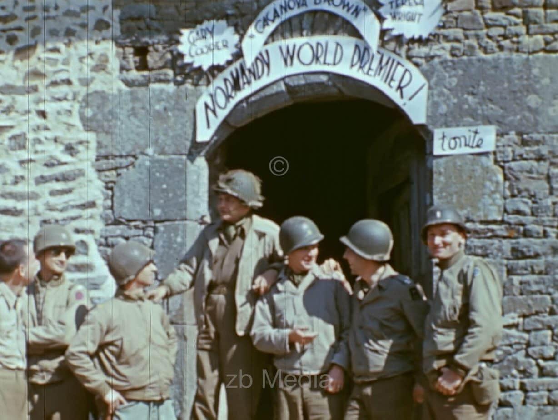US Kriegskorrespondenten, Normandie 1944