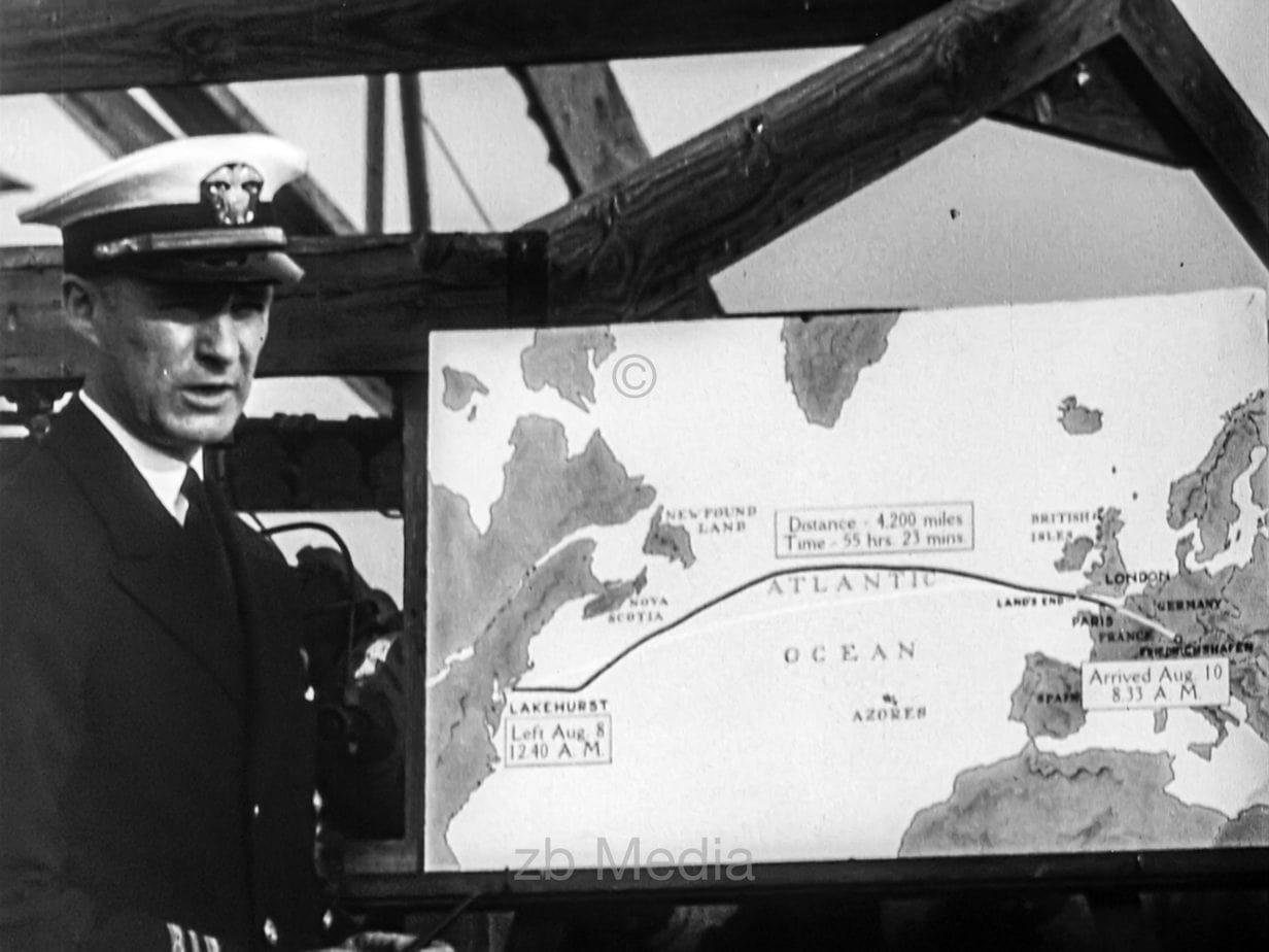 Weltumrundung Luftschiff Graf Zeppelin 1929