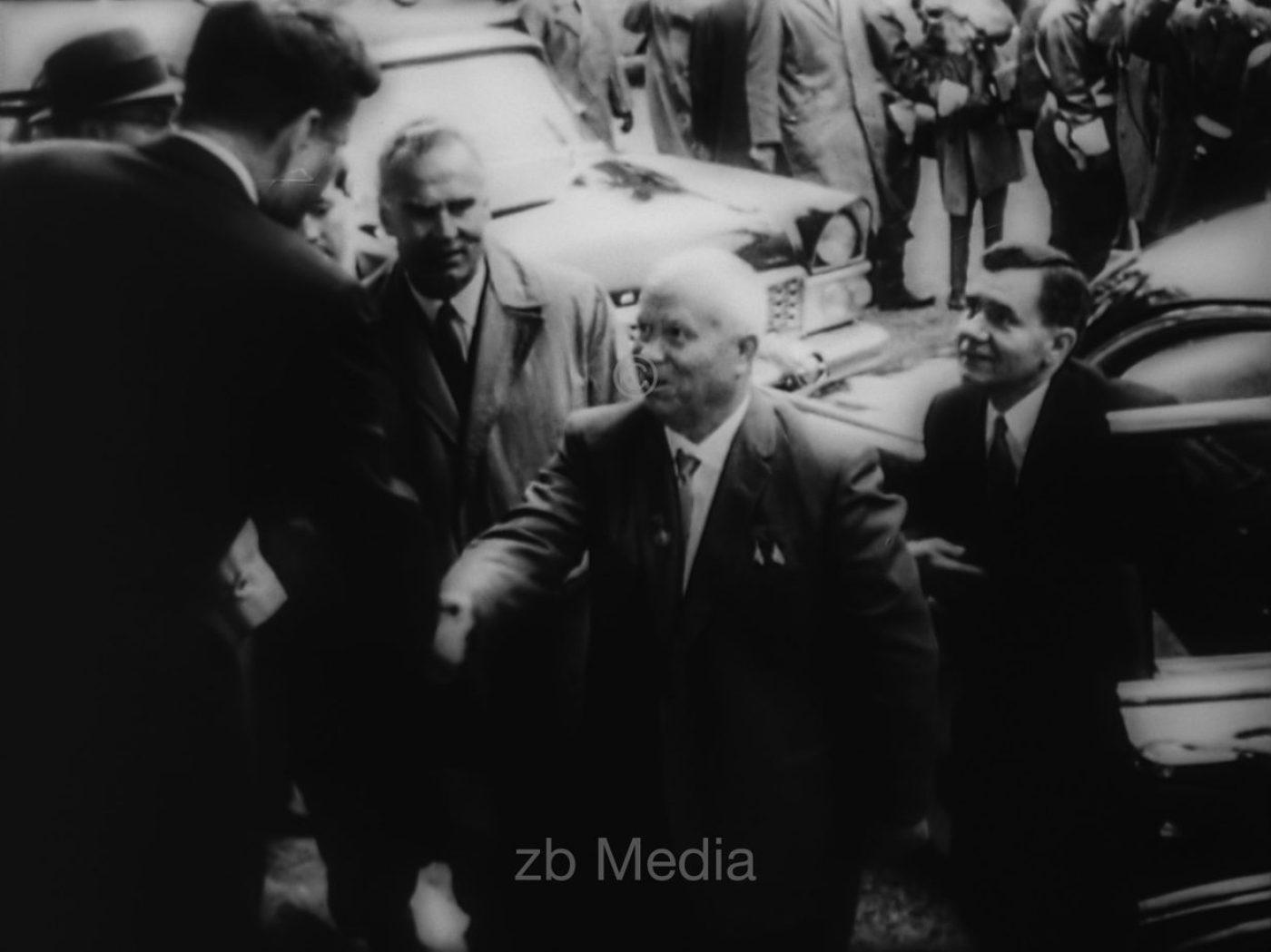 Kennedy trifft Chruschtschow in Wien 1961
