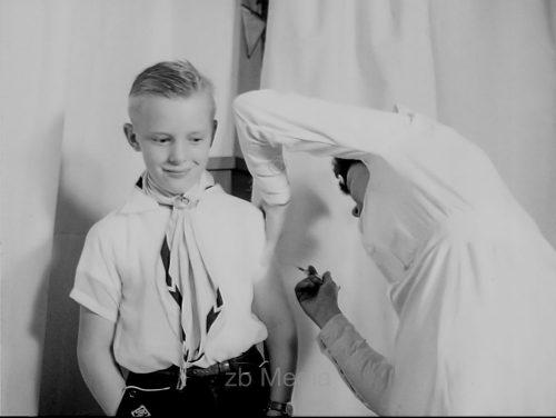 Polio Schutzimpfung 1955