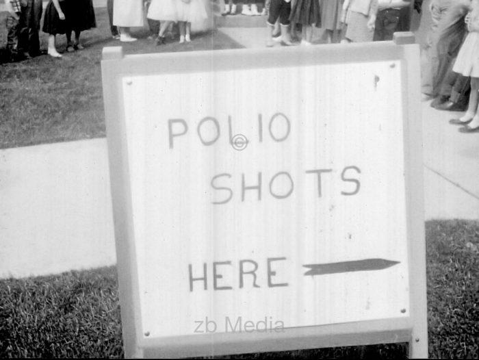 Polio Schutzimpfung USA 1955