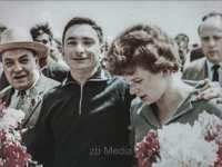 Valentina Tereschkowa und Waleri Bykowski
