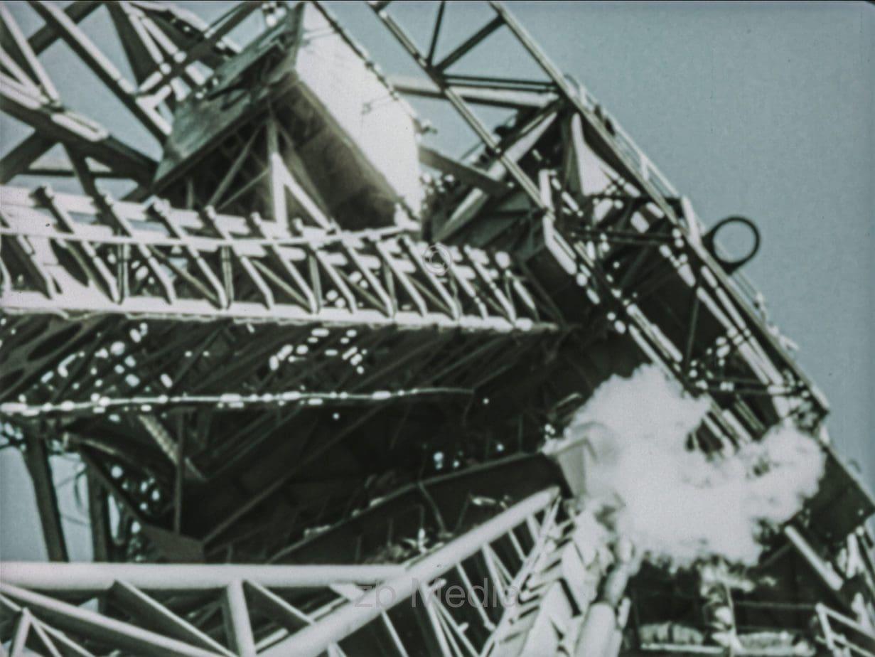 Startturm R7 Rakete