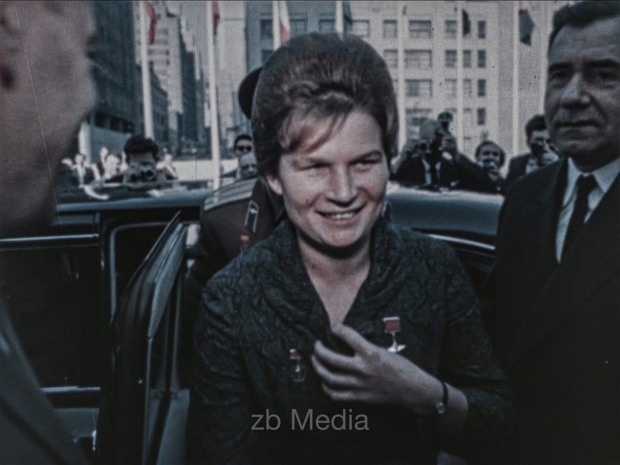 Valentina Tereschkowa in New York