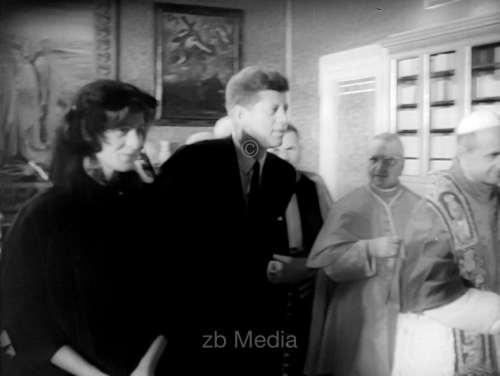 John F. Kennedy Papstaudienz 1963