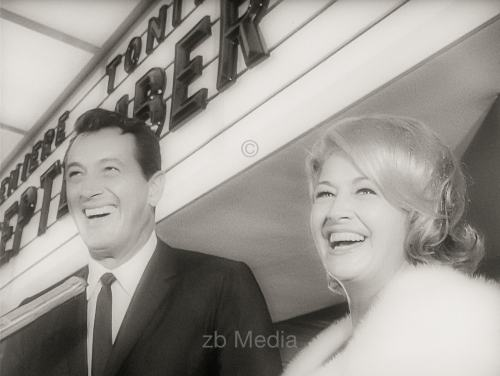 Rock Hudson, Premiere von Come September in Hollywood