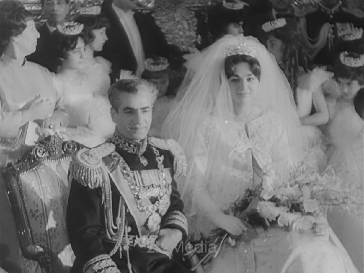 Hochzeit Shah Reza Pahlewi und Farah Diba Pahlavi