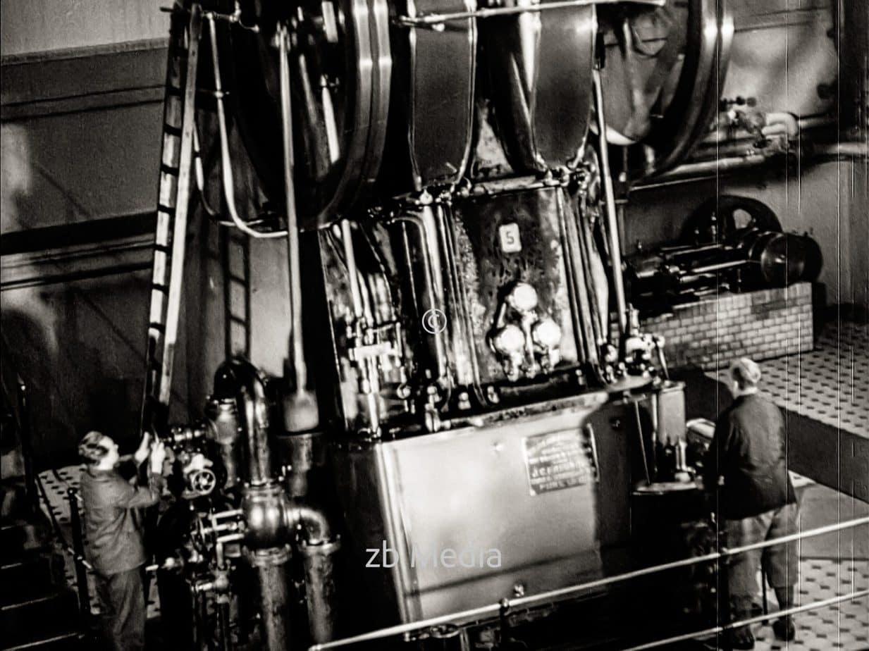 Elektrizitätswerk in Berlin 1930