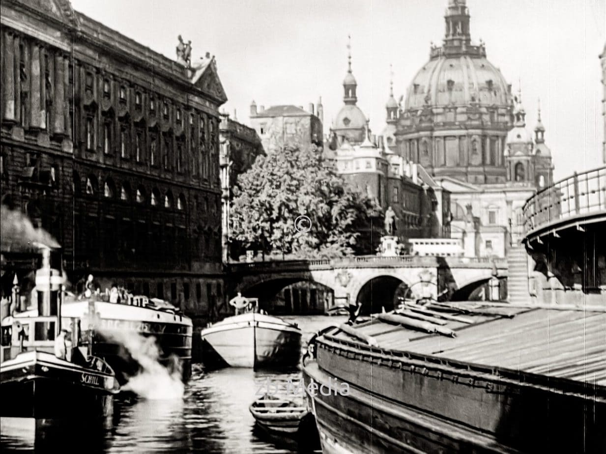 Spree und Dom in Berlin 1930
