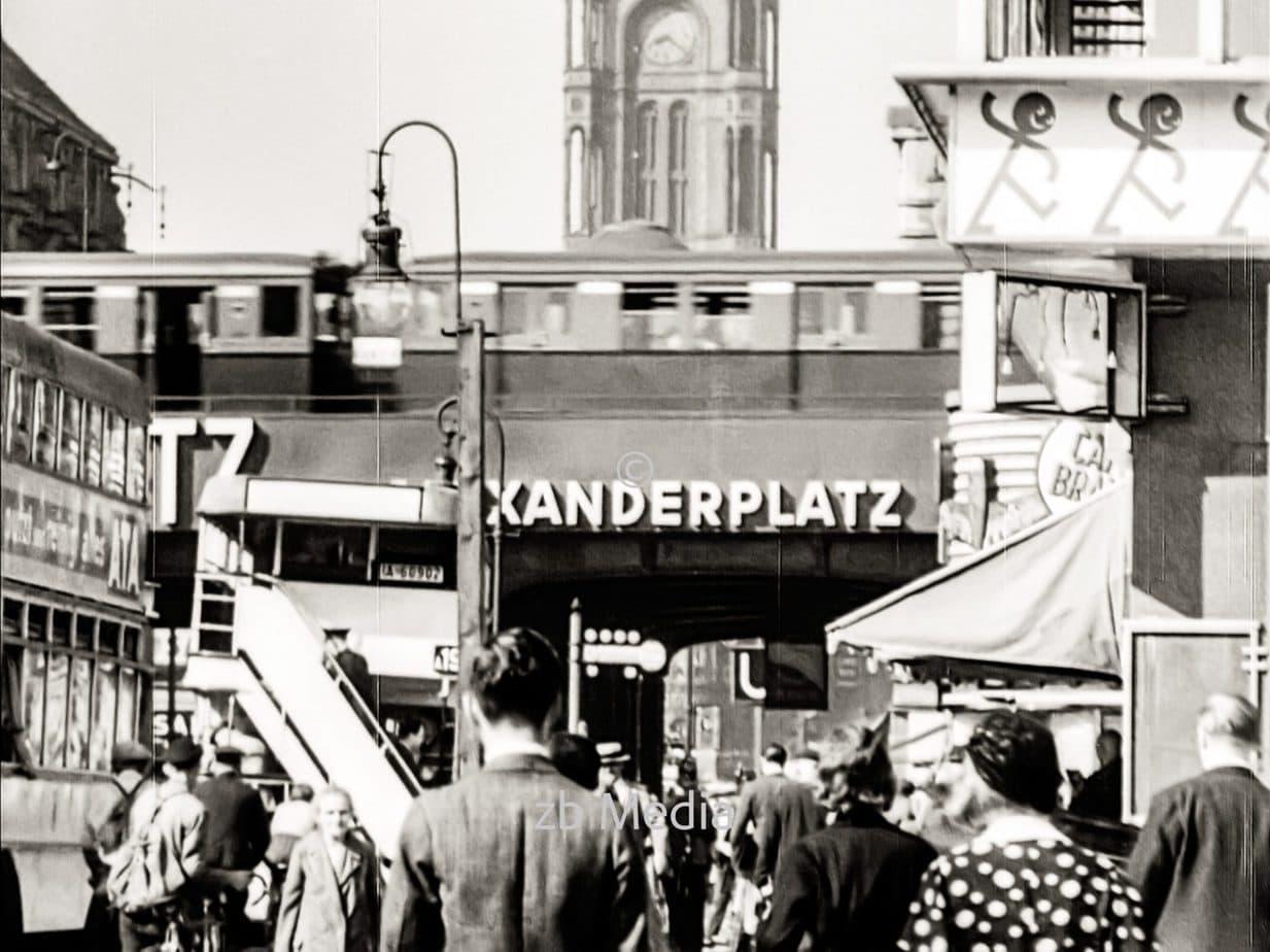 Alexanderplatz in Berlin 1930