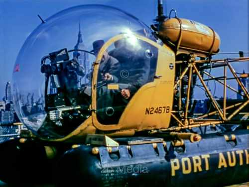 Helicopter of the Port Authority New York 1958