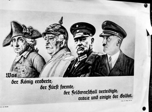 Nazi-Propaganda - Hitler als Abkömmling des Preußentums