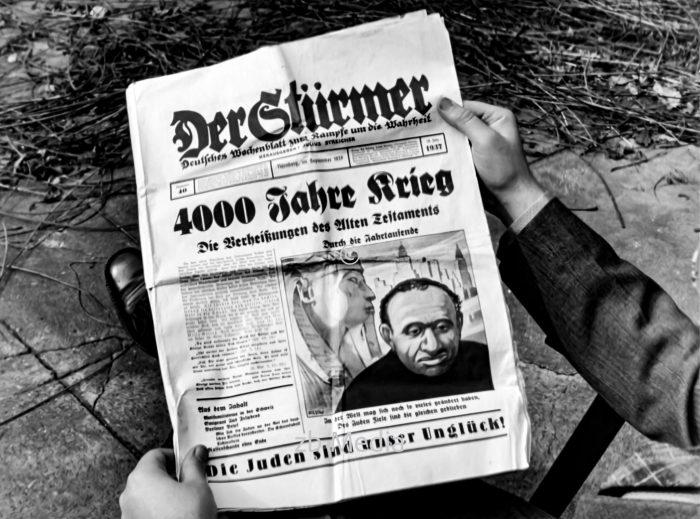 Antisemitismus in Nazi-Deutschland. Der Stürmer vom September 1937