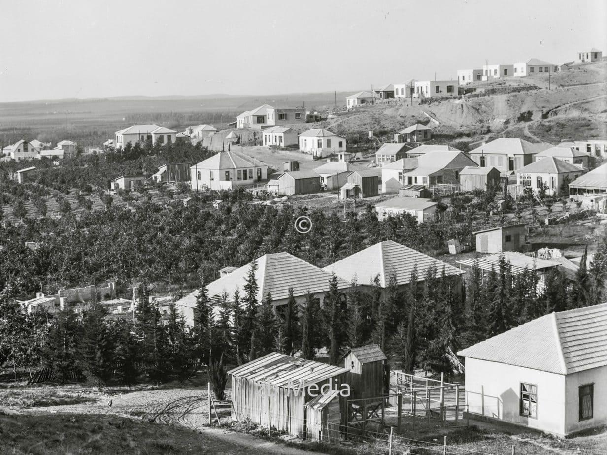 Zionistische Kolonien auf Scharon. Bnai Brak