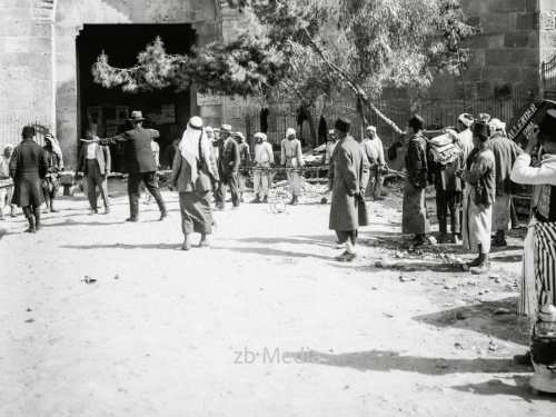 Straße in Jerusalem um 1935