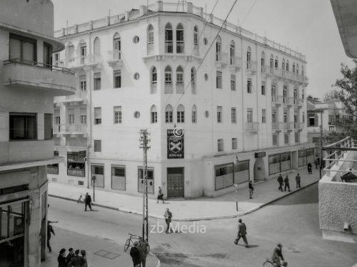 Fassade St. Andreas Haus in Tel Aviv 1935