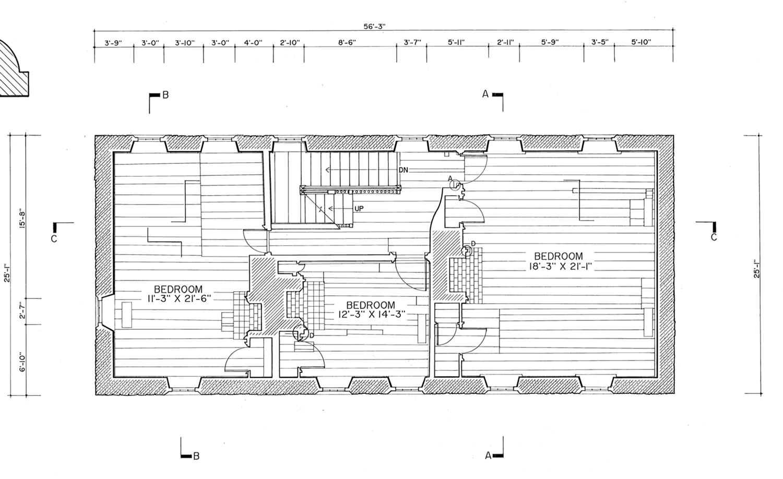 Floor Plans Graeme Park Horsham Plantation Horsham Township Pennsylvania