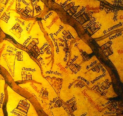 Mappa Mundi in details HUIK