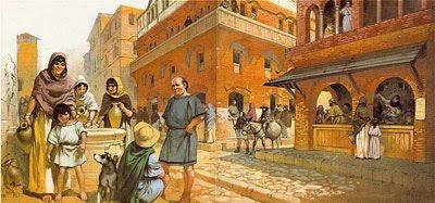 la vita quotidiana sul finire del mondo antico