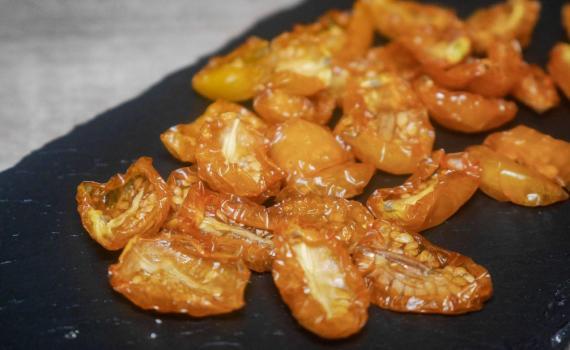 pomodori gialli seccati al sole (senza sale)