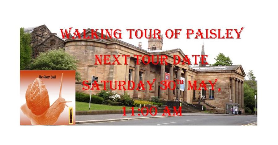 New Walking Tour of Paisley