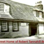 Castel Street Home of Robert Tannahill