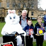 Father John With Wee John & Wee Max Easter Egg Hunt 2015