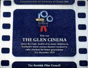Glen Cinema Plaque